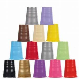 Piscine Plastique Dur : gobelet en plastique dur couleur x 25 vaisselle jetable discount badaboum ~ Preciouscoupons.com Idées de Décoration