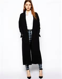 Long Black Duster Coats for Women