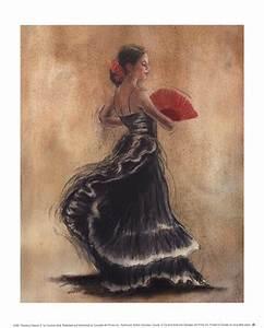Flamenco Dancer II ~ Fine-Art Print - Hispanic Culture Art ...