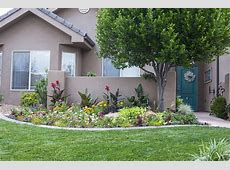 Backyard amusing front yard flower beds Simple Front Yard