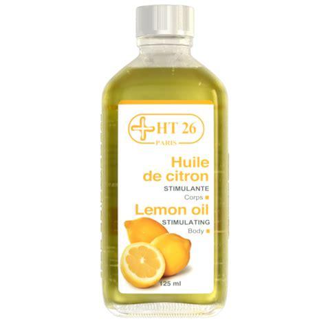 huile de citron cuisine ht26 huile de citron