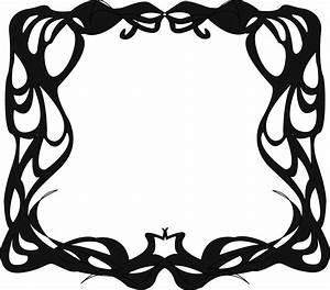 Art Nouveau Borders - ClipArt Best