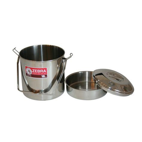 16cm pan zebra stainless steel billy pot pans pots cookware camp