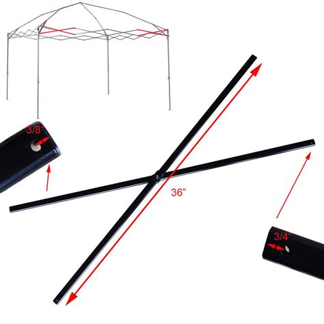 coleman    canopy gazebo side truss bars  replacement parts repair ebay