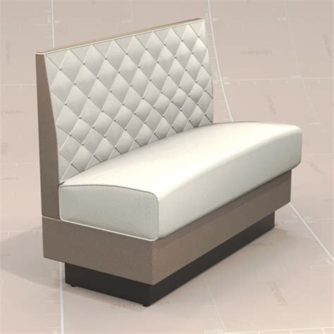Single Chair Sofa by Single Diner Booth 20 3d Model Formfonts 3d Models