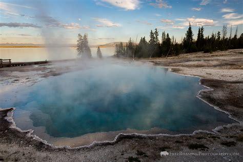 west thumb geyser basin yellowstone national park