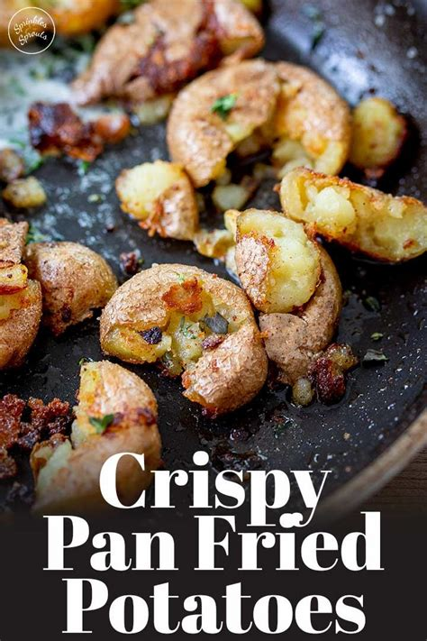 So good panfried catfish (makeover). These Crispy Pan Fried Potatoes make the perfect easy side ...