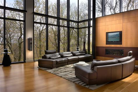 Rustic Living Room Wall Ideas by Sumptuous Lutron Electronics Vogue Montreal Modern Living