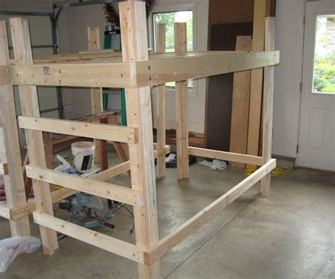 college bed loft twin xl