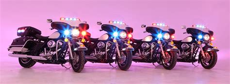 police motorcycle safety lights leds whelen motorcycle police products for harley davidson etc