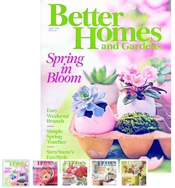 better homes and gardens magazine deal only 31 an issue