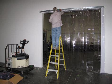 vinyl curtain installers pvc door installers