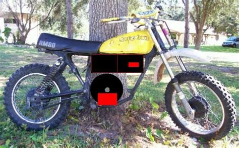 1978 Suzuki Rm80 Convertion (buzz)