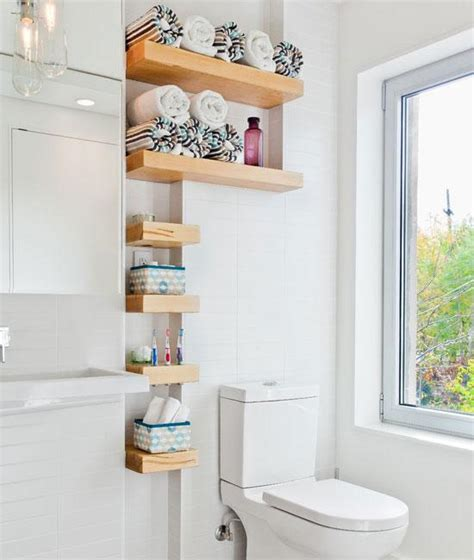 bathroom decor ideas craftriver - Shelves In Bathroom Ideas
