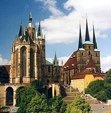 historic highlights historic attractions  erfurt germany