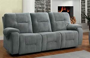 homelegance bensonhurst power double reclining sofa blue With blue sectional sofa with recliners