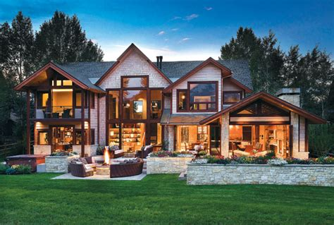 country style homes island style in a high country home