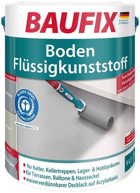 Flüssig Boden Kunststoff by Baufix Acryl Fl 252 Ssig Kunststoff 187 Boden 171 Dunkelgrau 5 L