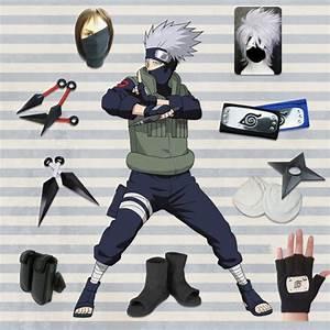 Hatake Kakashi Cosplay Costume/Buy full set Naruto Costume ...
