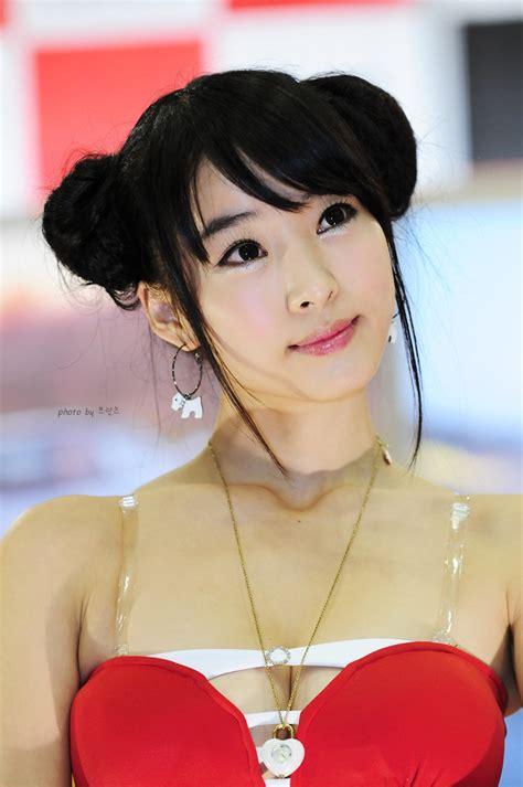beautiful sexy gril seo  jin  motorshow