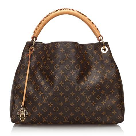 louis vuitton vintage monogram artsy mm bag brown leather handbag luxury high quality