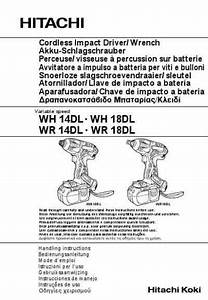 Hitachi Wh 14 Dl Tools Download Manual For Free Now