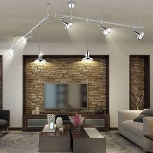 Schöne Lampen Fürs Wohnzimmer : elegante pendelleuchte f r ihr schienensystem kirogi lampen m bel r ume wohnzimmer ~ Sanjose-hotels-ca.com Haus und Dekorationen