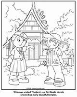 Coloring Thailand Guide Thinking Bahamas Thai sketch template