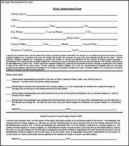 downloadable work authorization form sample templates With documents establish employment authorization