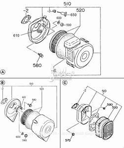 Robin  Subaru Ey28 Parts Diagram For Air Cleaner
