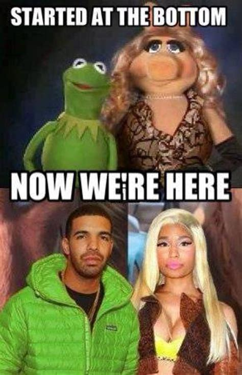 Drake Meme Started From The Bottom - look alikes nicki minaj know your meme