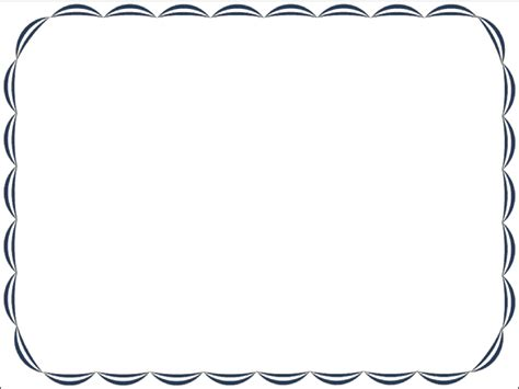 Free Border Templates by Free Certificate Borders Clipart Best