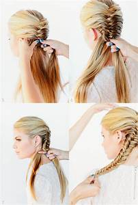 Simple Hairstyles For School Step By Step Nail Art Styling