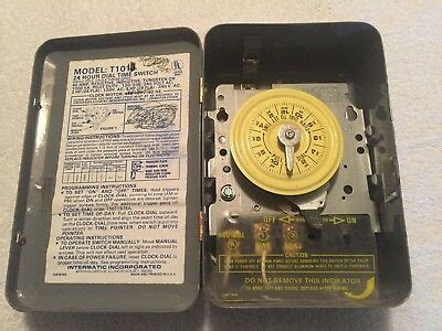 Intermatic Single Pole Amp Hour Dial Time
