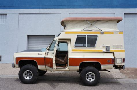 Blazer Chalet For Sale by 1976 Chevrolet Blazer Chalet Factory Overland Cer