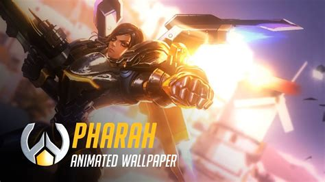Overwatch Wallpaper Animated - pharah animated wallpaper timelapse overwatch
