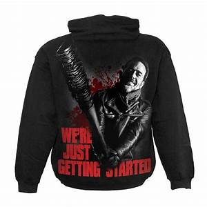 The Walking Dead Bettwäsche : the walking dead negan hoodie just getting started voodoomaniacs ~ Eleganceandgraceweddings.com Haus und Dekorationen