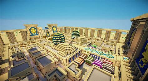 egyptian city minecraft project