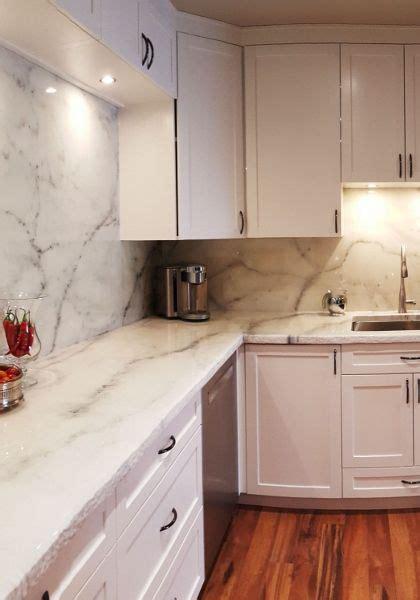 white marble kitchen epoxy countertops mimics granite  marble     laminate