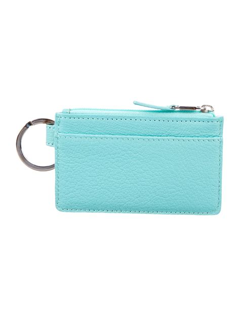 New and preowned, with safe shipping and easy returns. Tiffany & Co. Leather Card Holder - Accessories - TIF50414 | The RealReal