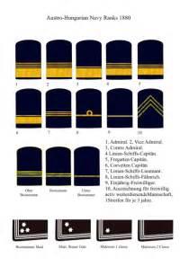 Navy Rank Insignia Chart