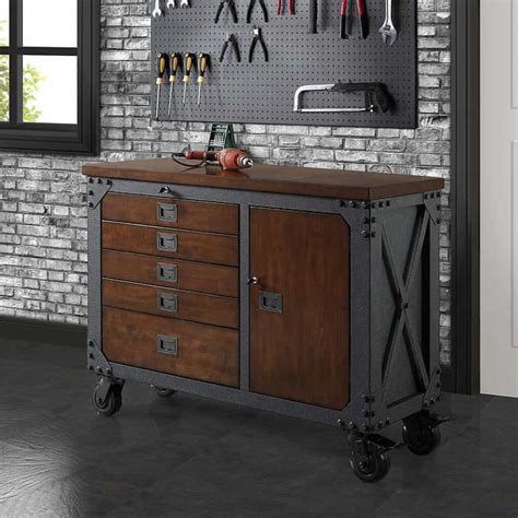whalen  metal  wood workbench industrial kitchen