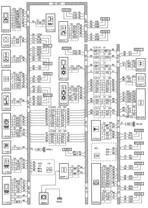 peugeot 306 engine type xud9te l3 wiring diagrams