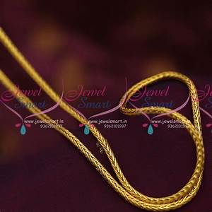 C07033 Traditional Gold Design Daily Wear Chain 30 Roll ...