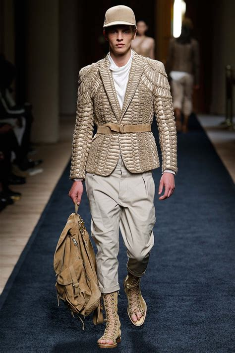 Balmain Spring/Summer 2016 Menswear Collection | Paris ...