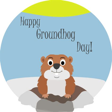 Groundhog Day Clipart Winter Groundhog Clipart Explore Pictures