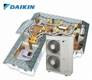 20kw Daikin Ducted Inverter  Three Phase   11 Outlets