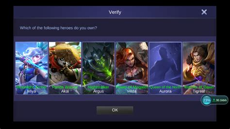 transfer mobile legends account