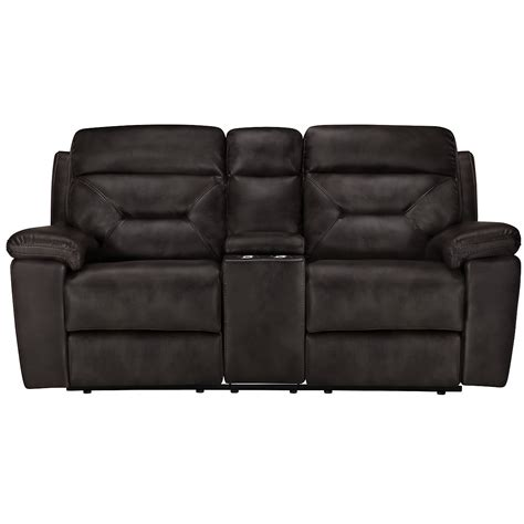gray reclining loveseat gray microfiber reclining console loveseat