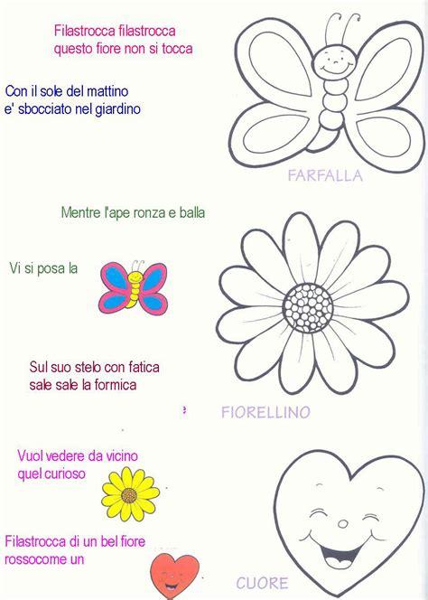 filastrocche  disegni  bambini da colorare